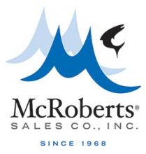 A logo for McRoberts Sales Co.